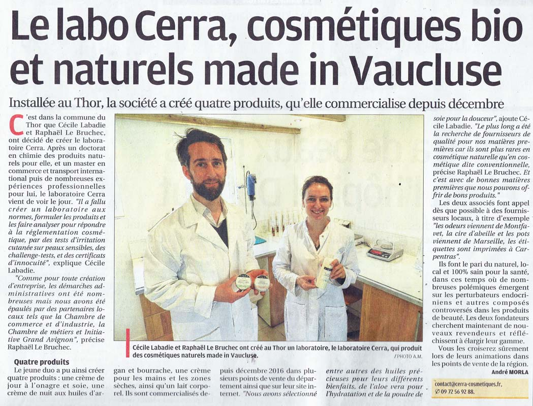 Article cerra la provence